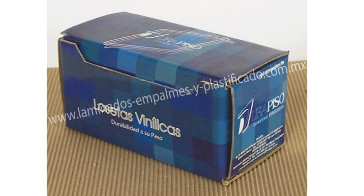 Caja de carton corrugado para loseta