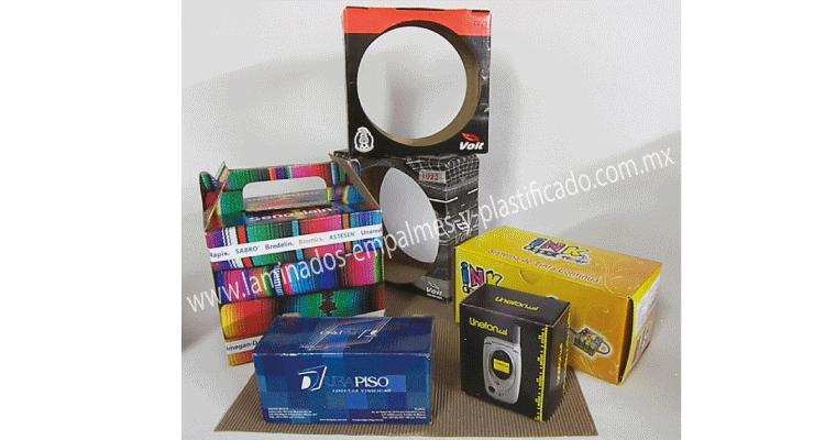 Cajas y estuches de carton corrugado